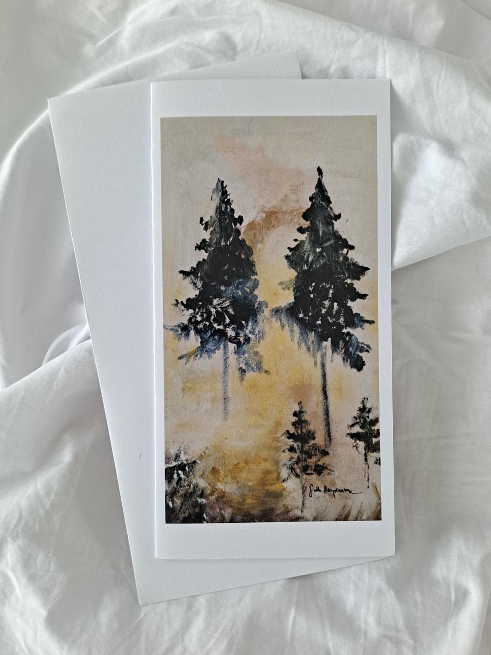 Sallamin kortti Metsässä